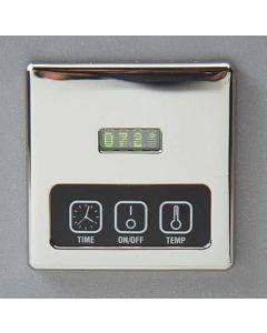 D60 Chrome Digital Heater Control