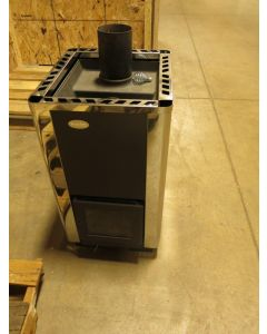 Polar Wood Burning Sauna Stove 16PK FIRE TESTED from Scratch and Dent Inventory