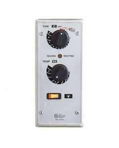 PSC-9 Flush Mount/60 min. Timer with 9 hour preset. Thermostat, light switch, Indicator light. Requires separate contactor box for LA heater.